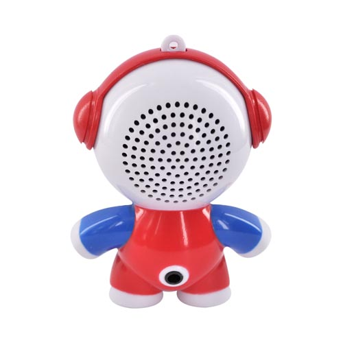 Original Mobi Micro Rechargeable Portable Speaker Headphonies, 70126 - Hello Kitty