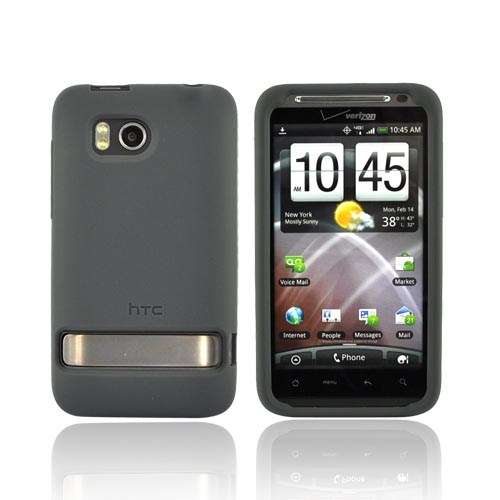 Original HTC Thunderbolt Silicone Case, 70H00372-05M - Gray