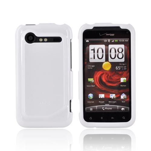 Original HTC Droid Incredible 2 Crystal Silicone Case, 70H00391-06M - White