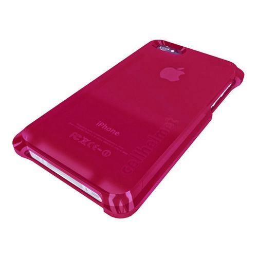 Hot Pink CellHelmet Super Tough Crystal Silicone Case w/ Accidental Damage Coverage for Apple iPhone 4/4S - CH 4S-PINK