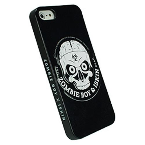 Original iSkin Zombie Boy White Skull on Black Hard Case for iPhone 5/5S - SKULL-IP5