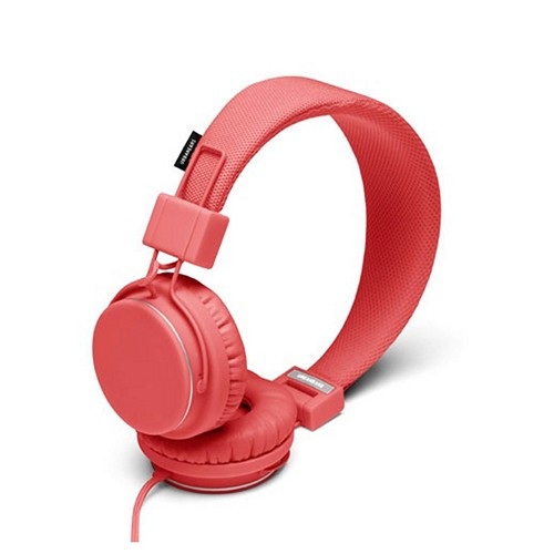 Coral UrbanEars Universal Over-Ear Collapsible Headphones w/ Microphone & Tangle-Free Cord