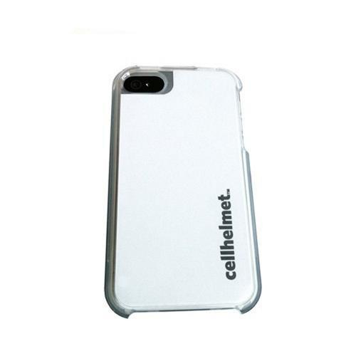 CellHelmet AT&T/ Verizon Apple iPhone 4, iPhone 4S Crystal Silicone Case w/ Interchangeable Back Plates - White/ Black (Accidental Damage Coverage!)