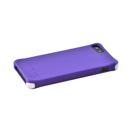 OEM Ballistic Apple iPhone 5/5S Lifestyle Smooth Gel Skin Case w/ Interchangeable Corner Bumpers  LS0955-M985 - Purple