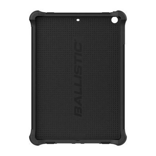 Ballistic Black Tough Jacket (TJ) Series Hard Case on Silicone Skin Case w/ Cover & Kickstand for Apple iPad Air - TJ1113-A065