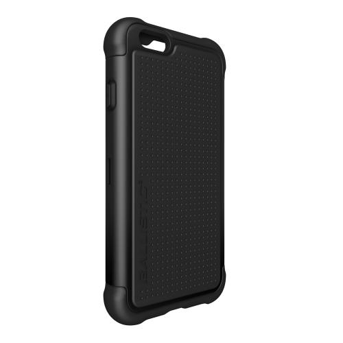 iPhone 6 Dual Layer Case by Ballistic | [Black] Tough Jacket (tj) Series Hard Case On Silicone Skin [tj1415-a06c]