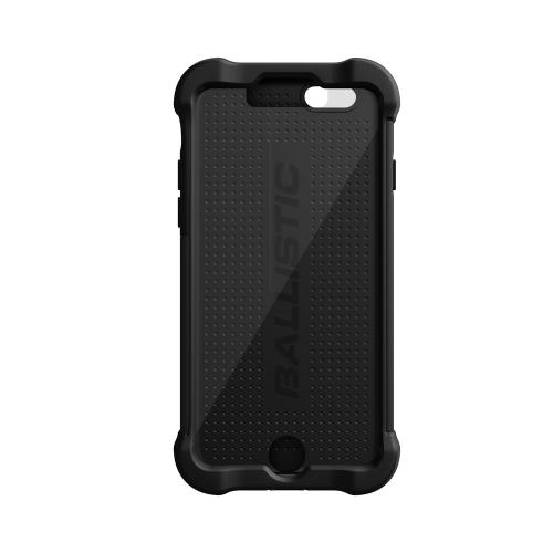 Ballistic Black Apple iPhone 6 (4.7 inches) Tough Jacket MAXX Series Hard Case on Silicone Skin Case w/ Holster {TX1416-A06C} - Amazing Protection, Great Otterbox Alternative!