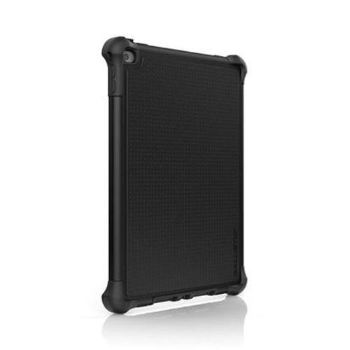 Ballistic Black Apple iPad Air 2 Tough Jacket Series Hard Cover Silicone Case w/ Cover & Kickstand