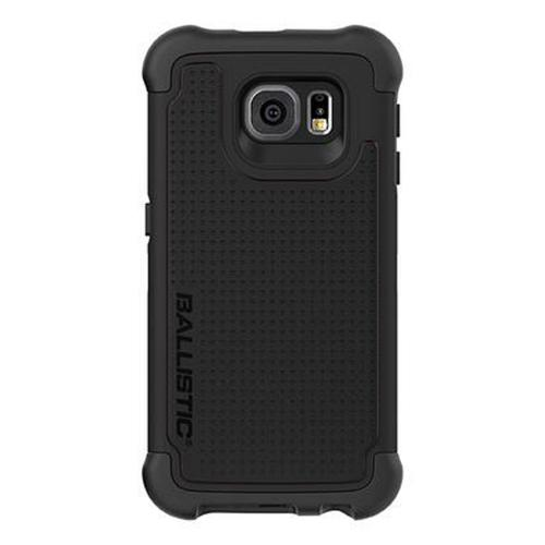 Samsung Galaxy S6 Case, Ballistic [Black] TOUGH JACKET Series Dual Layer Reinforced Protective Hybrid Case