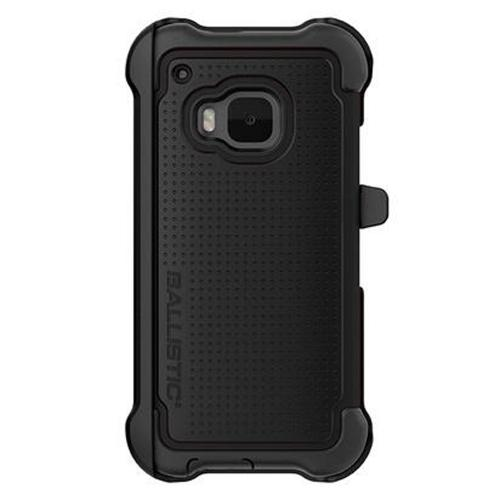 Ballistic Black HTC One M9 Tough Jacket MAXX Series Hard Case on Silicone Skin Case w/ Holster [TX1608-A06N] - Amazing Protection, Great Otterbox Alternative!