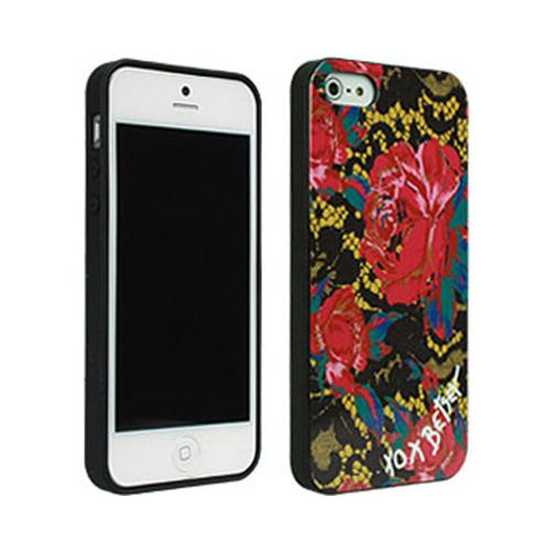 Betsey Johnson Lacey Floral Design Hard Case for Apple iPhone 5/5S