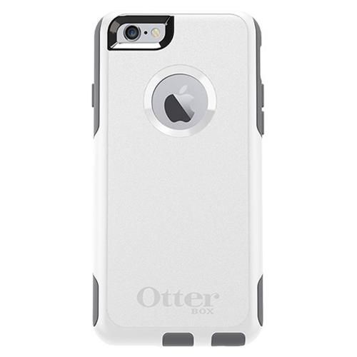 Apple iPhone 6/6S (4.7 inch) Case, Otterbox [White/Gray] Commuter Series Hybrid Hard Cover Case w/ Screen Protector