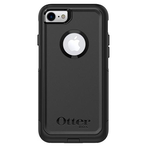 Apple iPhone 7 (4.7 inch) Case, Otterbox [Black] Commuter Series Hybrid Hard Cover Case