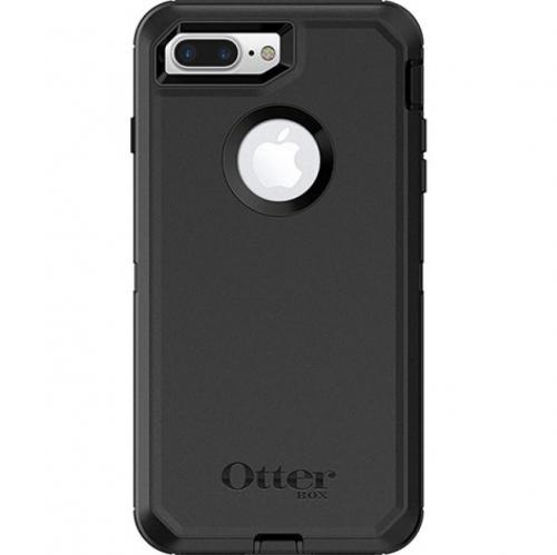 Apple iPhone 7 Plus (5.5 inch) Case, Otterbox [Black] Defender Series Hard Cover Case w/ Holster