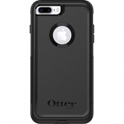 Apple iPhone 7 Plus (5.5 inch) Case, Otterbox [Black] Commuter Series Hybrid Hard Cover Case