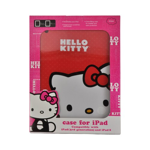 Hello Kitty Red Back Cover for Apple iPad (2nd, 3rd & 4th Gen.)