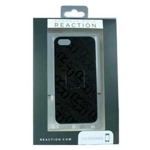 Apple iPhone SE / 5 / 5S  Case, Kenneth Cole Reaction [Black] Dress to Impress Series Rubberized Case