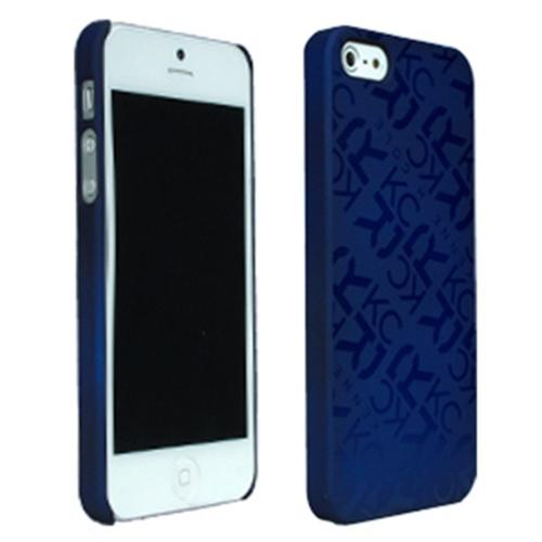 Apple iPhone SE / 5 / 5S  Case, Kenneth Cole Reaction [Blue] Dress to Impress Series Rubberized Case