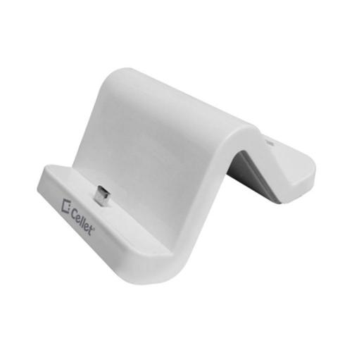 Universal Micro USB Charging Dock w/ Wall Adapter - White