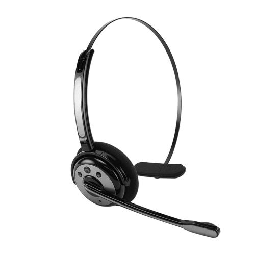 Cellet Silver/ Black Wireless Bluetooth Headset with Boom Microphone