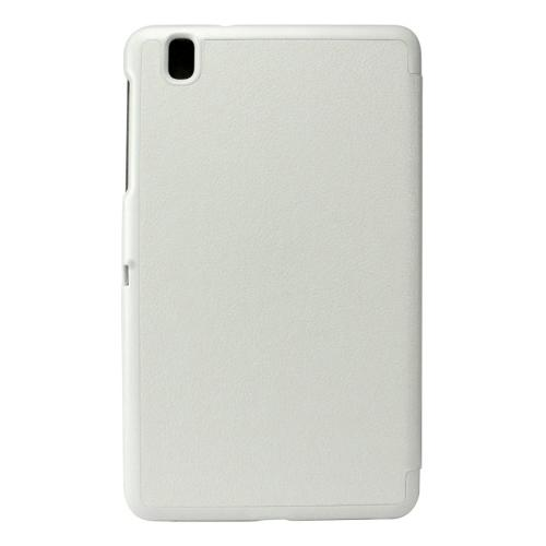 Cellet White Samsung Galaxy Tab Pro 8.4 Slim Shell Folio Cover Case