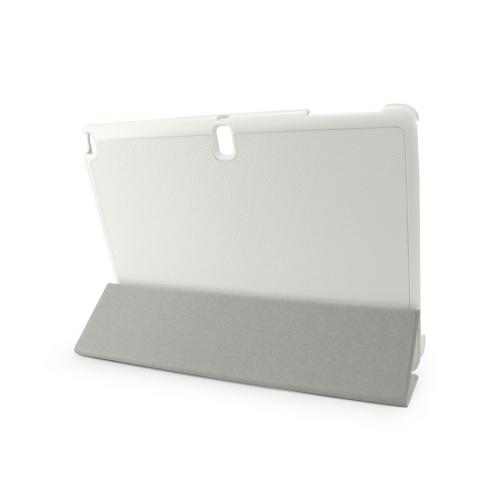 Cellet White Samsung Galaxy Tab Pro 10.1 Slim Shell Folio Cover Case