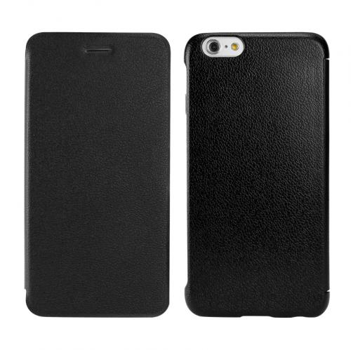 Cellet Black Slim Folio Flip Case Made for Apple iPhone 6 (4.7 inch)