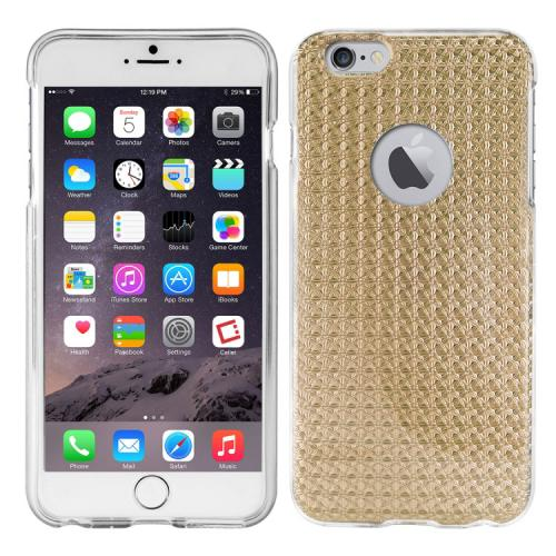 Cellet Gold Hologram Slim TPU Flexi Case Made for Apple iPhone 6 PLUS/6S PLUS (5.5 inch) - [Stylish and Protective at the Same Time!]