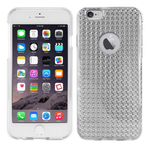 Apple iPhone 6/ 6S Case, Cellet [Silver] Hologram Slim Slim & Flexible Anti-shock Crystal Silicone Protective TPU Gel Skin Case Cover