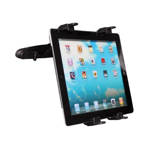 OEM Delton Universal Tablet/GPS/DVD Player Car Windshield & Backrest Mount - Black