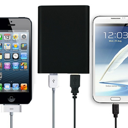 Universal Mobile Backup Power Bank Charger with Micro USB Cable [2600 mAh]