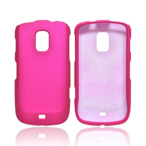 OEM MultiPro Samsung Galaxy S Lightray 4G Rubberized Hard Case - Hot Pink