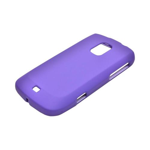 OEM MultiPro Samsung Galaxy S Lightray 4G Rubberized Hard Case - Purple