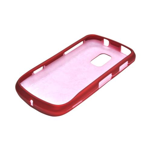 OEM MultiPro Samsung Galaxy S Lightray 4G Rubberized Hard Case - Red