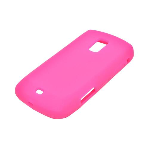 OEM MultiPro Samsung Galaxy S Lightray 4G Silicone Case - Hot Pink