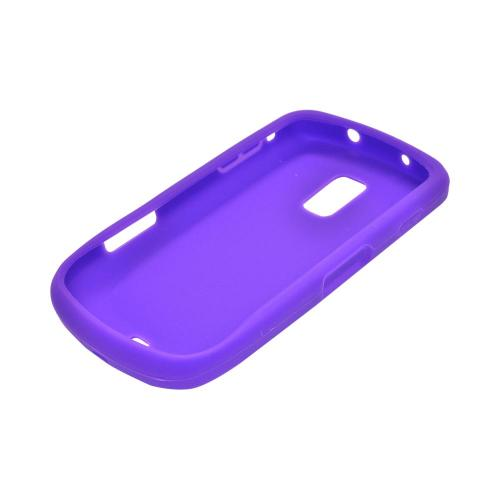 OEM MultiPro Samsung Galaxy S Lightray 4G Silicone Case - Purple