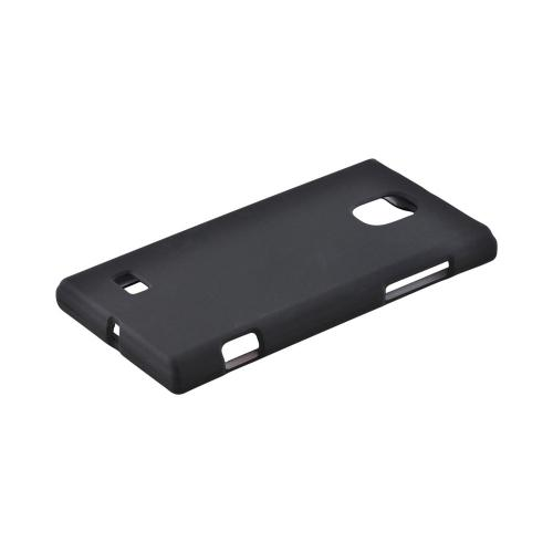 OEM MultiPro LG Spectrum 2 Rubberized Hard Case - Black