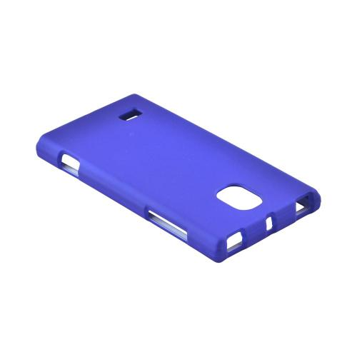 OEM MultiPro LG Spectrum 2 Rubberized Hard Case - Blue