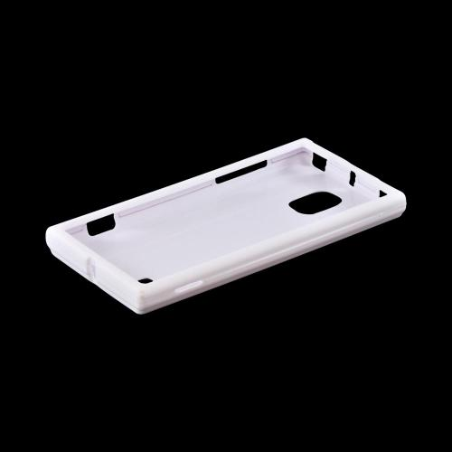 OEM MultiPro LG Spectrum 2 Rubberized Hard Case - White