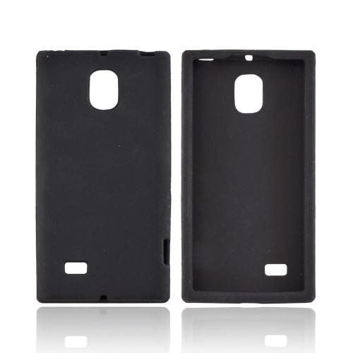 OEM MultiPro LG Spectrum 2 Silicone Case - Black