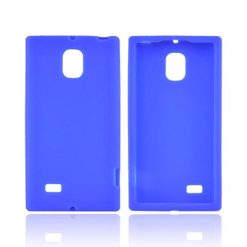 OEM MultiPro LG Spectrum 2 Silicone Case - Blue