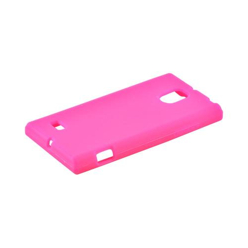 OEM MultiPro LG Spectrum 2 Silicone Case - Hot Pink