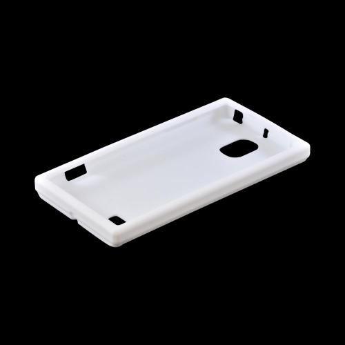 OEM MultiPro LG Spectrum 2 Silicone Case - White
