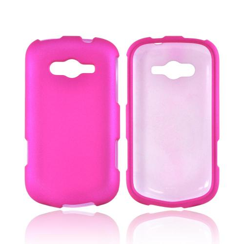 OEM MultiPro Samsung Galaxy Reverb Rubberized Hard Case - Hot Pink