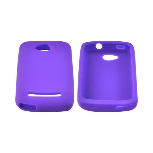 OEM MultiPro CoolPad Quattro 4G Silicone Case - Purple