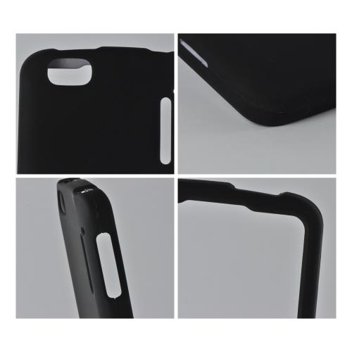 MultiPro Black Rubberized Hard Case for Alcatel Authority 960C
