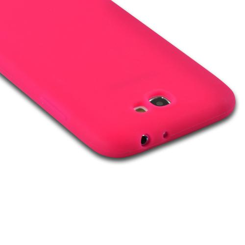 MultiPro Hot Pink Silicone Case for Samsung Galaxy Note 2