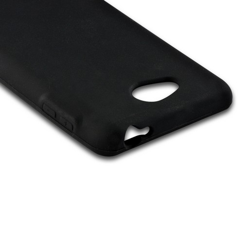MultiPro Black Silicone Case for LG Spirit 4G (MetroPCS)