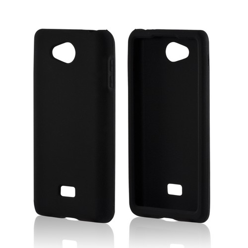 MultiPro Black Silicone Case for LG Spirit 4G