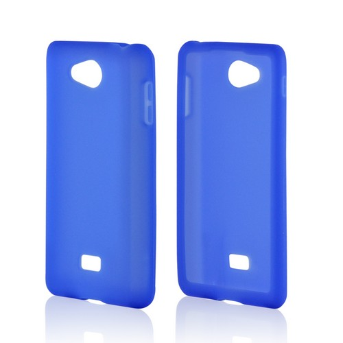 MultiPro Blue Silicone Case for LG Spirit 4G